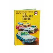 Personalised Mid Life Crisis Book