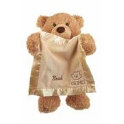 Personalised Gund Bear And Blanket