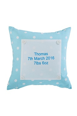 Personalised Polka Dot Cushion