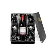 Vineyard Red Wine & Glasses - Congr...