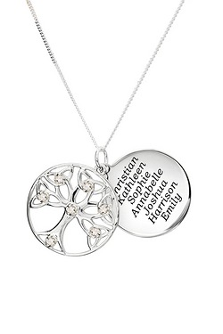 Personalised Tree Of Life Birthston...