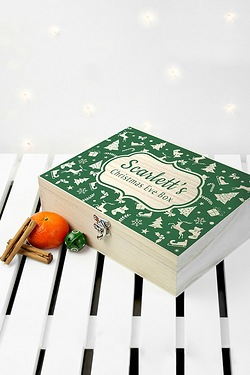 Personalised Christmas Eve Box With...
