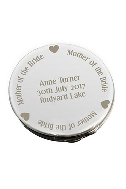 Personalised Compact Mirror - Mothe...