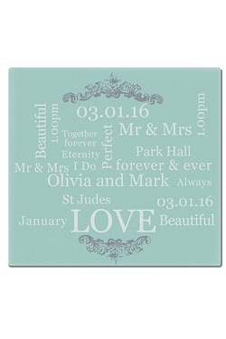 Personalised Chopping Board - Typog...
