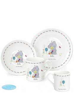 Personalised Tatty Teddy Breakfast Set