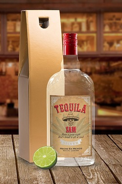 Tequila With Personalised Label - G...