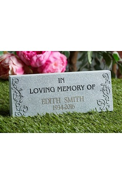 Personalised In Loving Memory Plaque