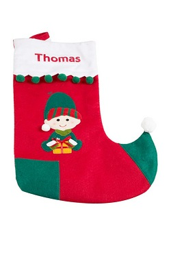 Personalised Stocking - Elf