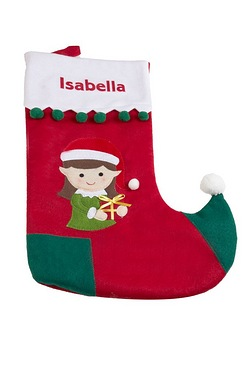 Personalised Stocking - Girl
