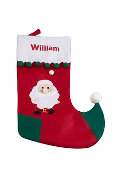 Personalised Stocking - Santa