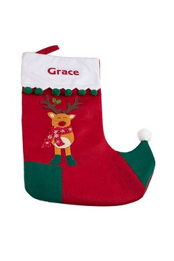 Personalised Stocking - Reindeer