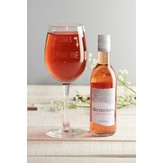 Personalised Wine Set - Rose