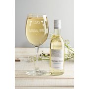 Personalised White Wine Set