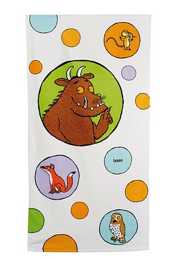 Personalised Kids Towel - Gruffalo