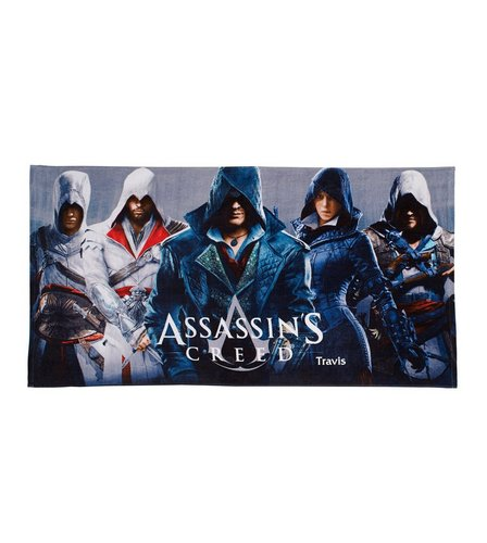 Image for Personalised Towels - Assassins Creed from ace