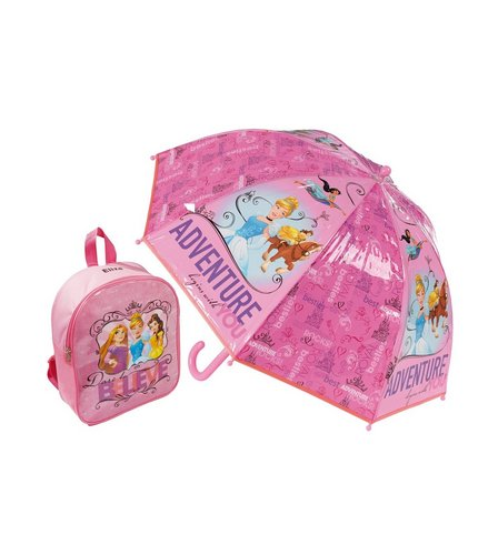 Image for Personalised Backpack and Brolly Set - Disney Princess from ace