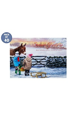 Christmas Treats Personalised Cards...