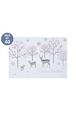 Woodland Reindeer Personalised Card...