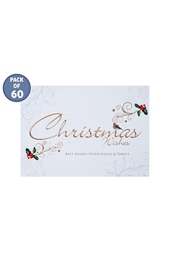 Christmas Wishes Personalised Cards...
