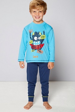 Boys Personalised Pyjamas - Monster