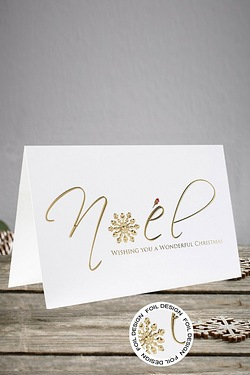 Inside Personalised Noel Cards