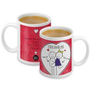 Purple Ronnie Couples Mug