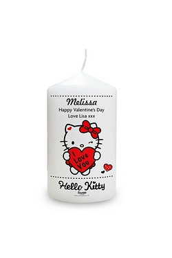 Hello Kitty I Love You Candle