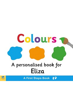 Personalised First Steps Colours Bo...