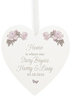 Personalised Vintage Floral Large W...