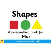 First Steps Shapes Board Book for T...