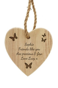 Personalised Butterfly Chunky Woode...