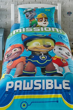 Personalised Paw Patrol Spy Duvet Set