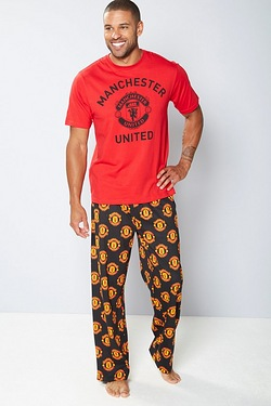 Personalised Football Pyjamas - Man...