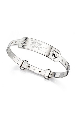 D For Diamond Medical Baby Bangle