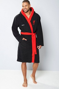 Personalised Supersoft Robe - Liver...