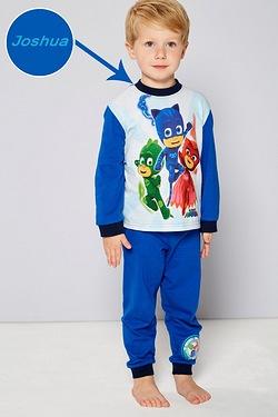 Boys Personalised PJ Masks Pyjamas