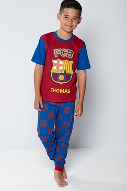 Boys Personalised Pyjamas - Barcelona