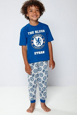 Boys Personalised Pyjamas - Chelsea