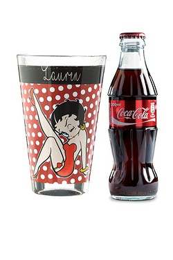 Personalised Betty Boop Coke Set