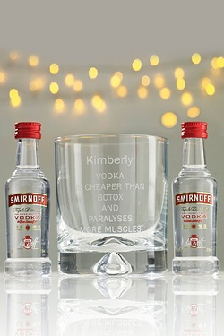 Personalised Vodka Set