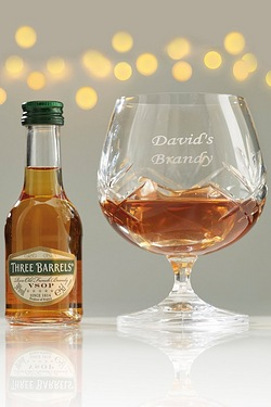 Personalised Brandy Set