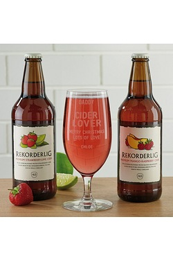 Personalised Cider Set