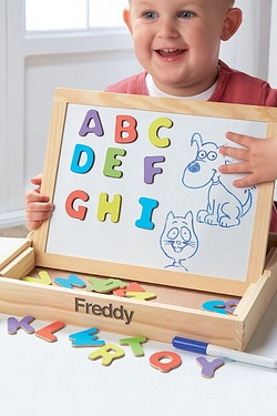 3-In-1 Magnetic Drawing Box Alphabet