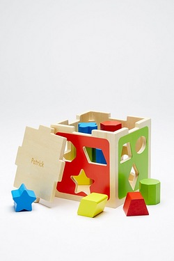 Personalised Shape Sorter