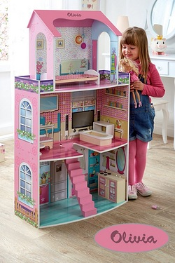 Personalised Dolls Fashion Mansion