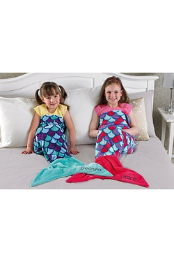 Personalised Mermaid Blanket
