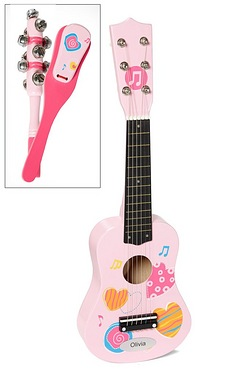 Personalised Guitar Set - Pink