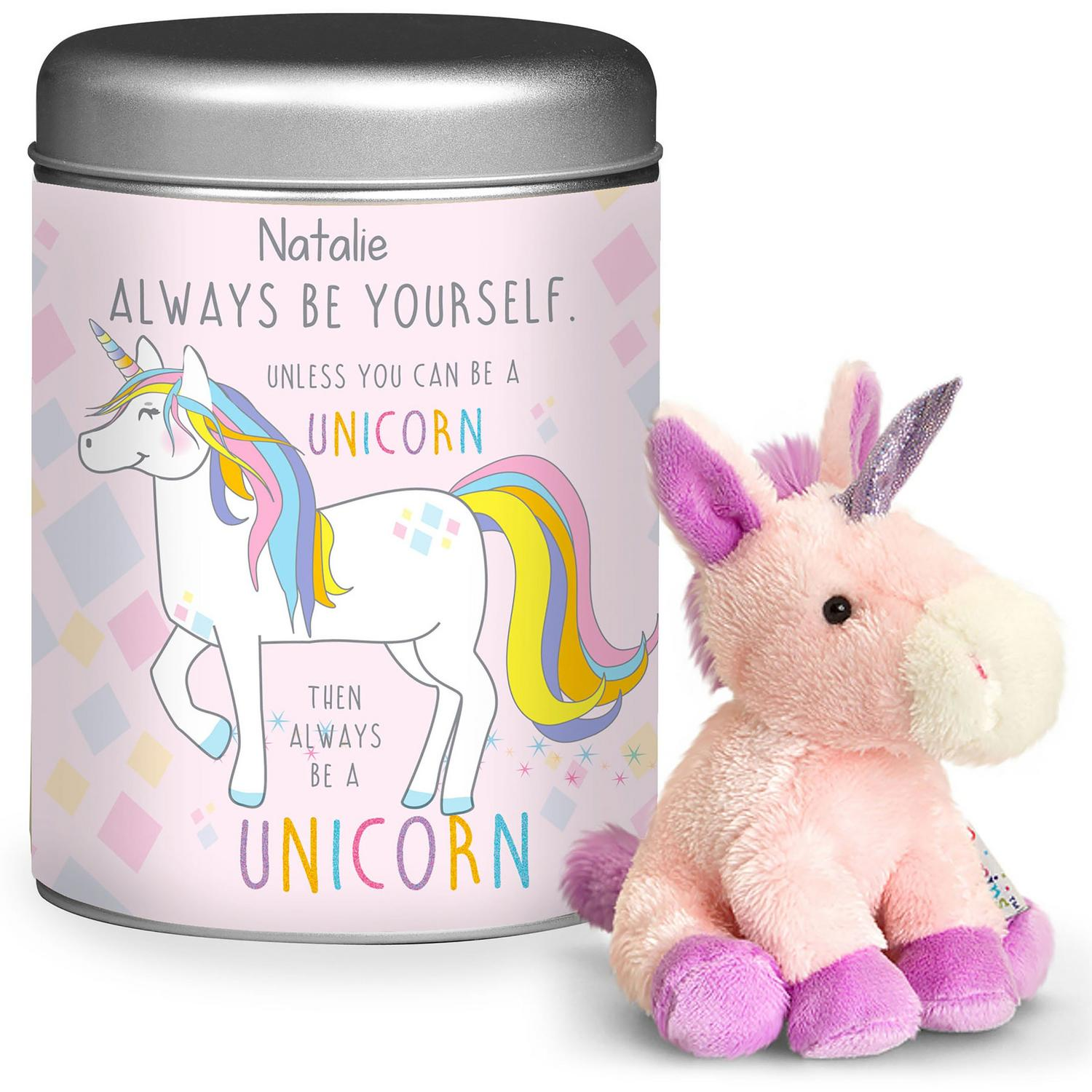 Image for Always Be A Unicorn Teddy In A Tin from studio