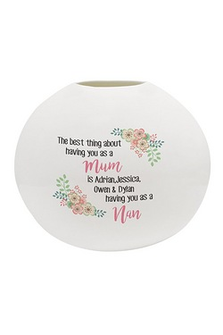 Personalised The Best Thing Luna Vase
