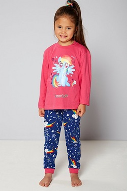 Girls Personalised My Little Pony Pyjamas